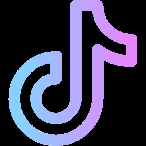 Tik tok  Free social media icons