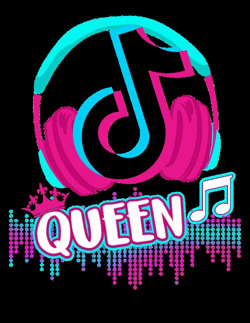 TikTok Queen Shirt For Girls  Gift for Tiktok Lover