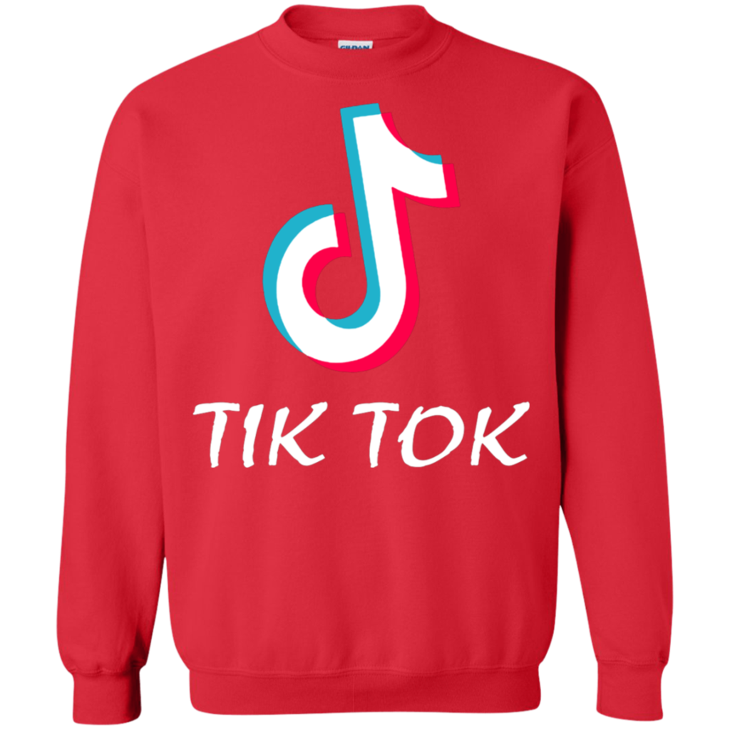 AGR Tik Tok 4 Crewneck Pullover Sweatshirt  AGREEABLE