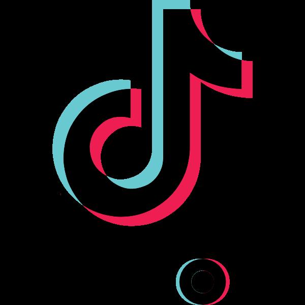Tiktok Icon White tik tok Logo SVG download en 2020