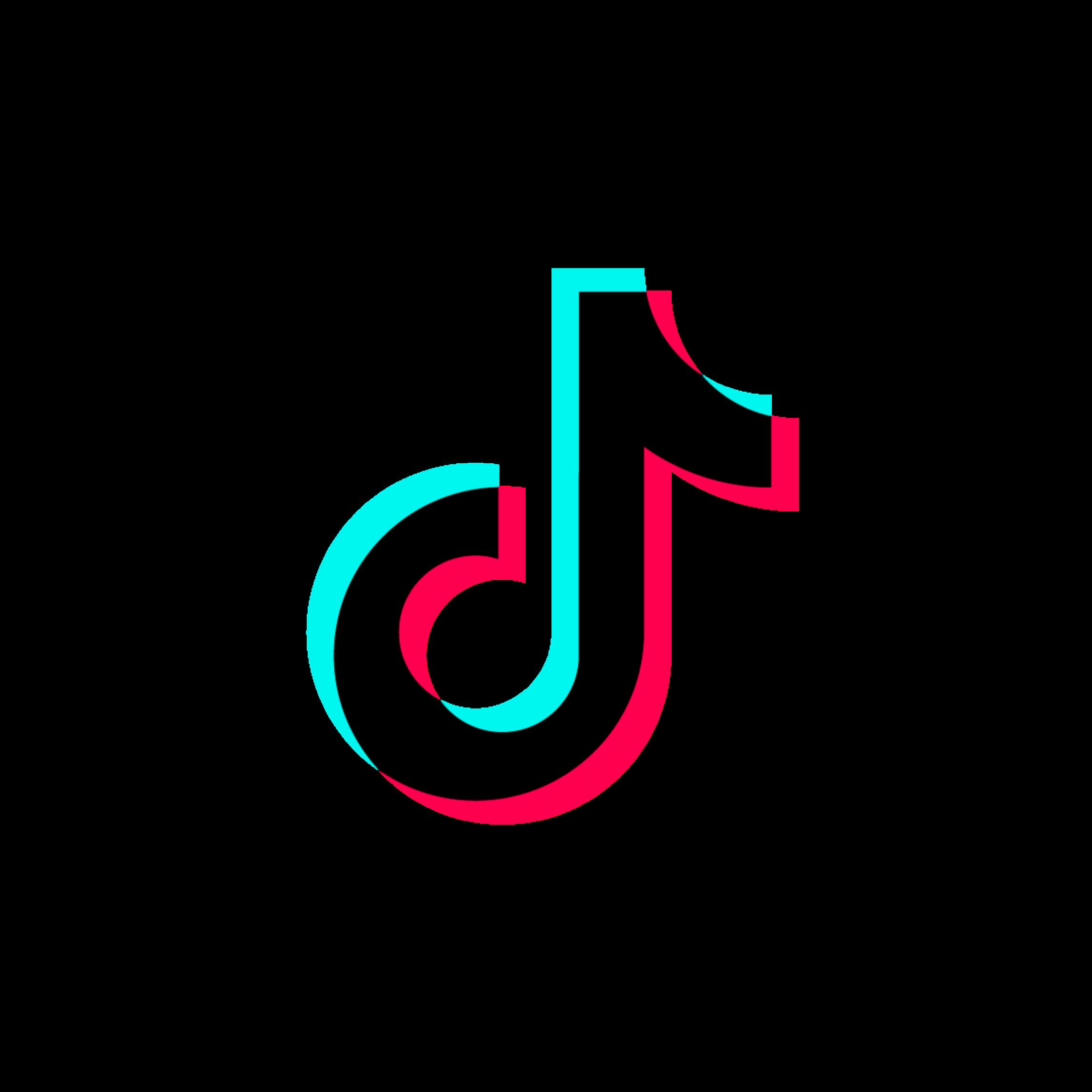 tik_tok tiktok musicly note tumbrl wallpaper background... - Tik Tok Logo Background