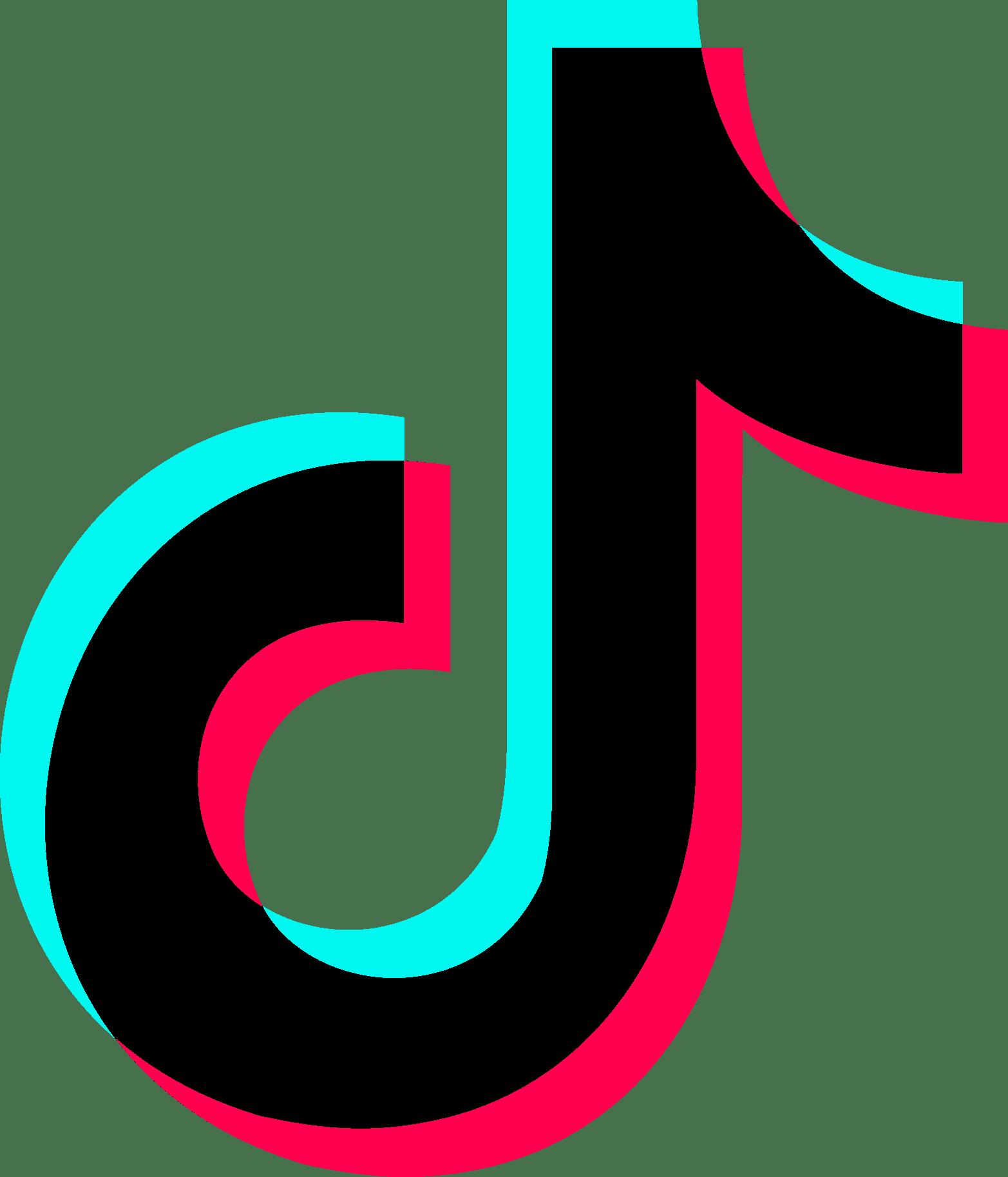 Tik Tok Logo (Musical.ly) Download Vector - Tik Tok Logo Background