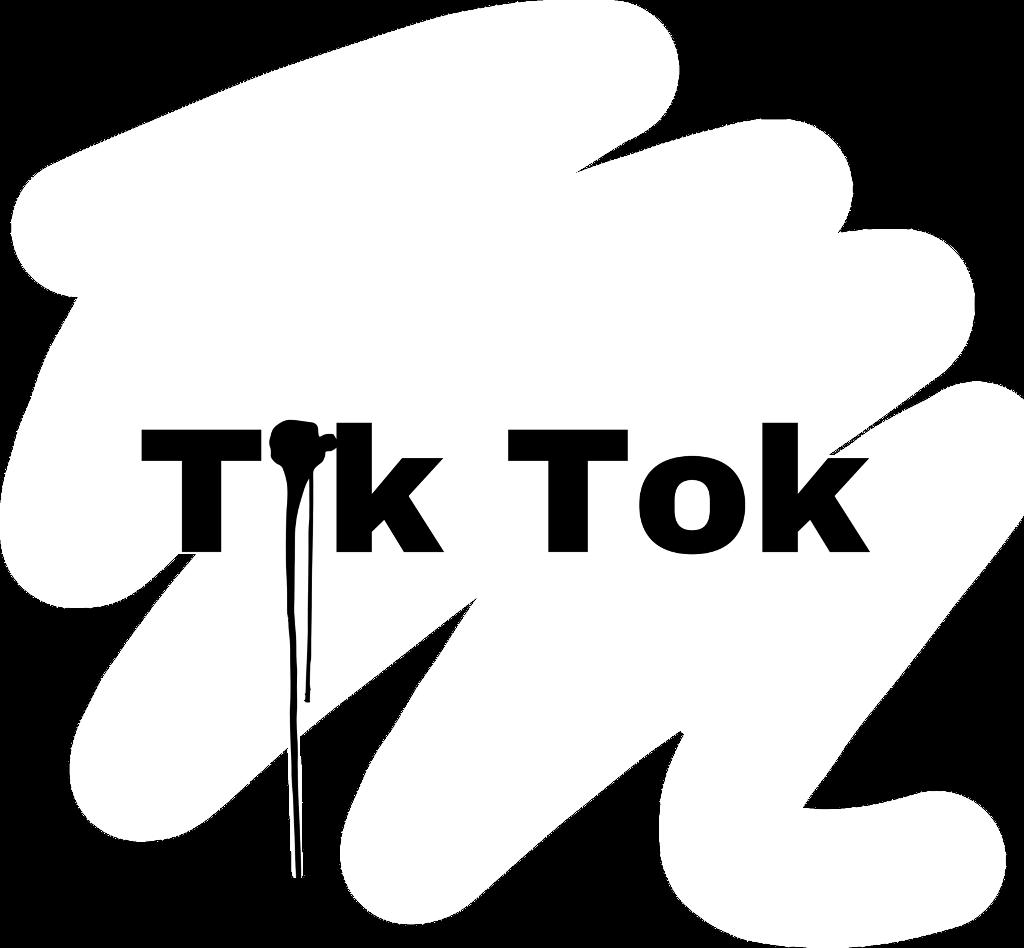 Tiktok Logo Transparent Black
