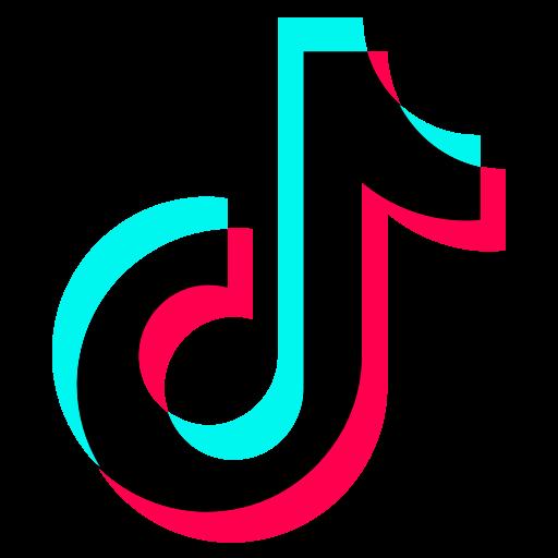 Media social tiktok icon