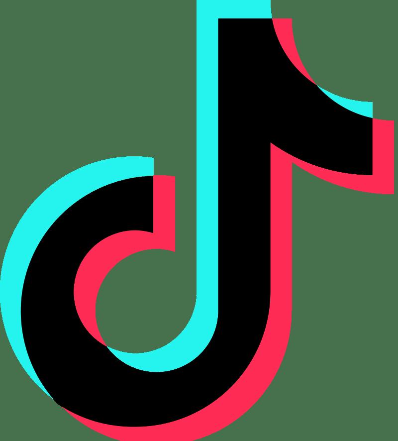 Tik tok name logo