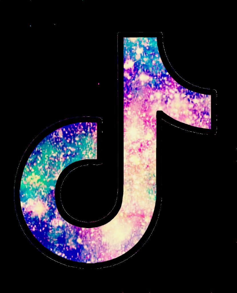 ftestickers glitter sparkle tiktok tiktoklogo galaxy