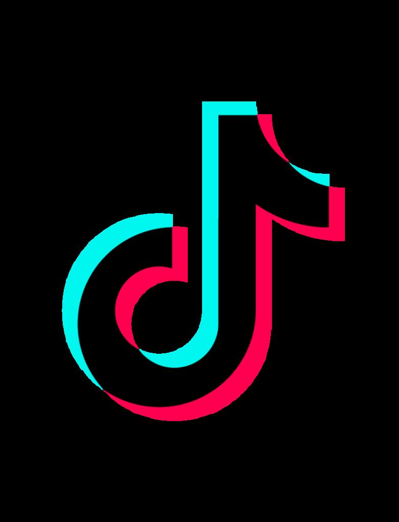 Tik Tok Logo Coloring Pages  hot tiktok 2020