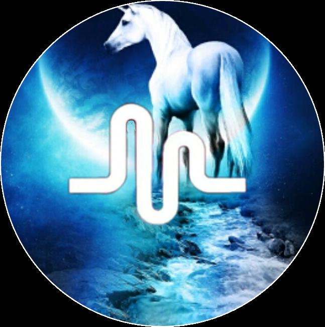 unicorn musically  Sticker by kk pura
