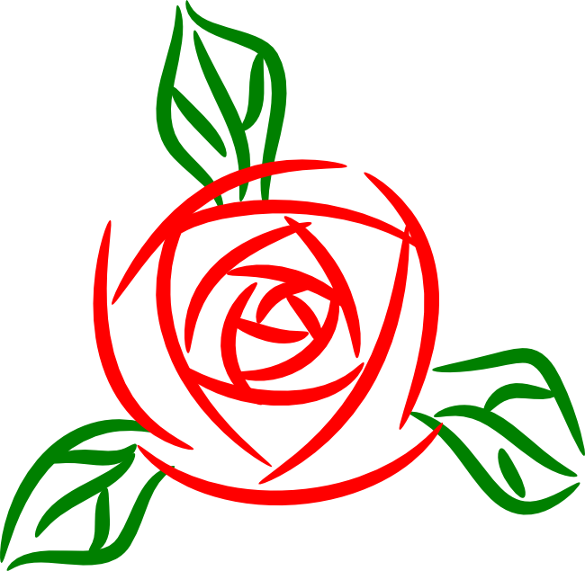 Long Stem Rose Clipart  Free download on ClipArtMag