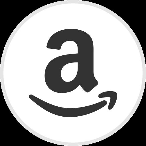Amazon logo media social icon