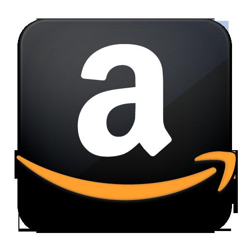 Black Amazon Logo Icon PNG Transparent Background Free