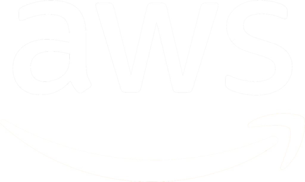 Amazon Logo Png White Aws With Transparent Background