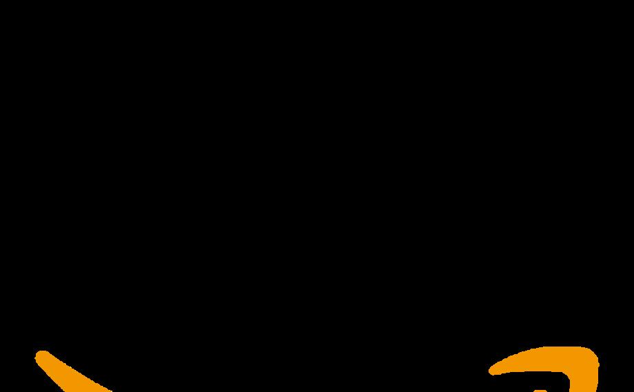 Download High Quality amazon logo transparent grey