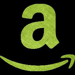 Green fabric amazon icon  Free green fabric site logo