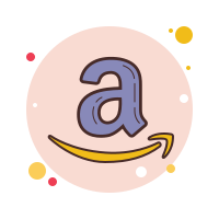 Amazon Icon  Free Download PNG and Vector