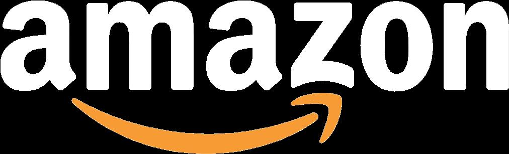 View Our Amazon Storefront  Amazon Logo White Png Clipart