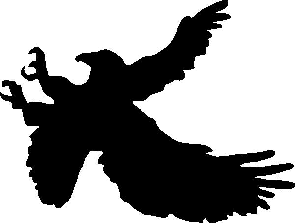 Bald Eagle Silhouette Clip art  Eagle Silhouette Cliparts