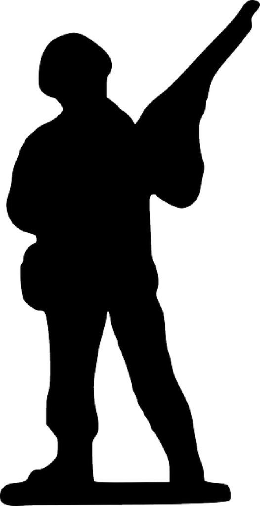 British Soldier Silhouette at GetDrawings  Free download