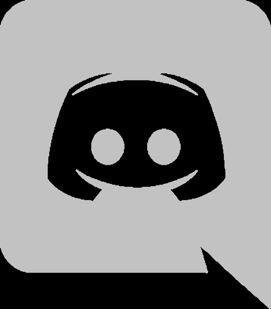 Download High Quality discord logo transparent gray