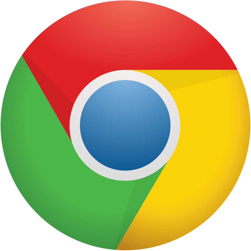 Library of google chrome symbol clipart freeuse downloads