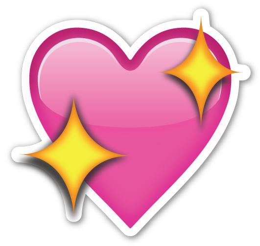 Sparkling Heart  Heart Coeur dalene and Emojis
