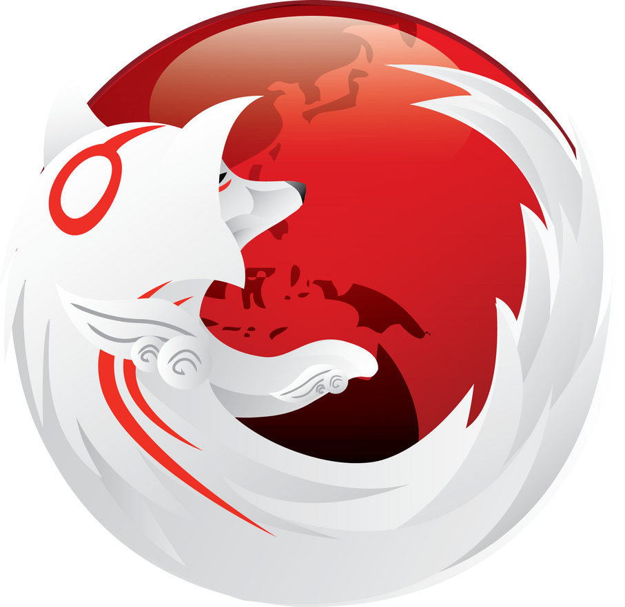 Okami Firefox Icon by TheAverageGeek on DeviantArt
