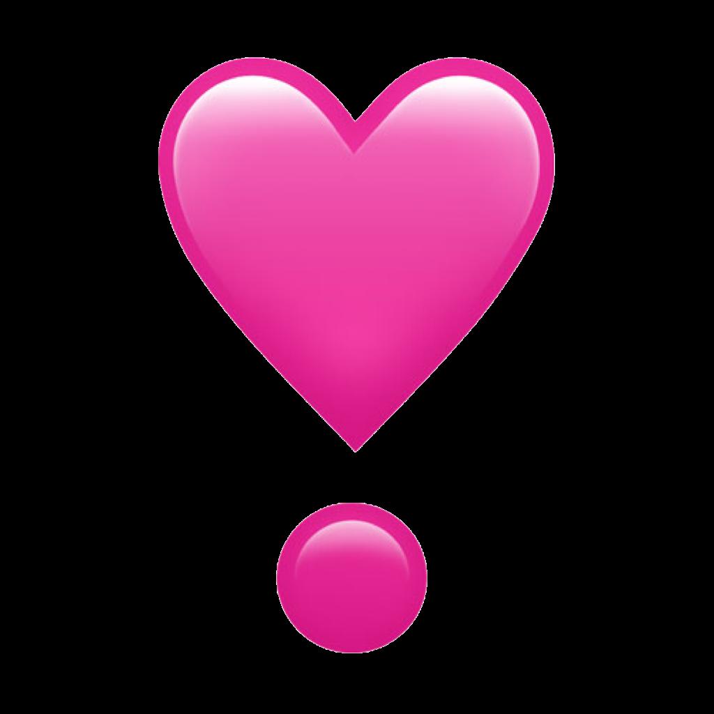 pink heart emoji freetoedit freetouse remixit remixmefr... - Anime Heart Emoji