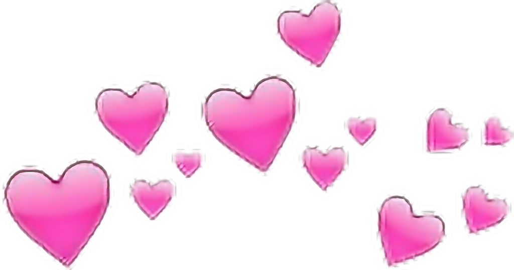 heart pink emoji  Sticker by sad girl