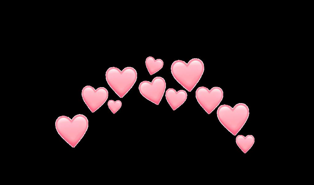 kawaii heart hearts crown tumblr emoji emojis sticker