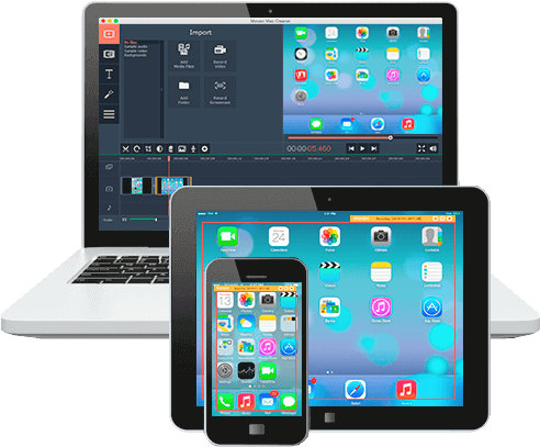 Recording Videos from Apple Devices Screens with Movavi