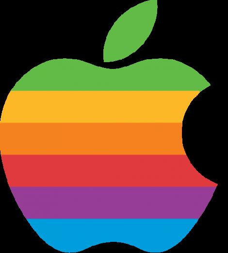 Oldskool  Apple computer logo Computer logo Apple logo