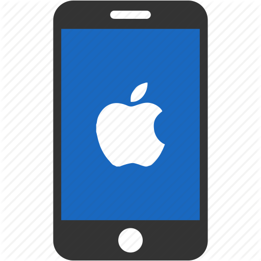 Library of apple phone icon jpg transparent download png