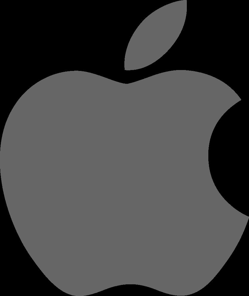 FileApple logo dark greysvg  Wikimedia Commons