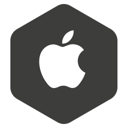 Apple Logo Icon of Flat style  Available in SVG PNG EPS
