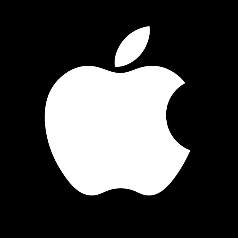 Apple Logo Black Rounded PNG Image  PurePNG  Free