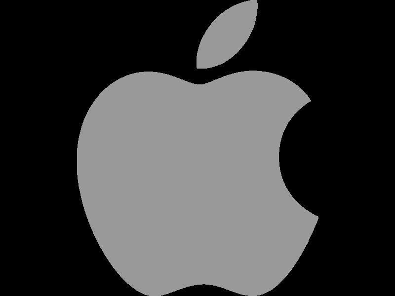 Apple Logo PNG Transparent  SVG Vector  Freebie Supply