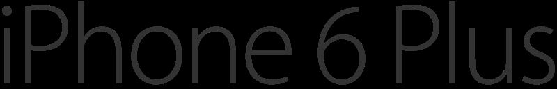 FileIPhone 6 Plus logosvg  Wikimedia Commons