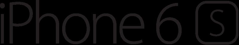 FileiPhone 6s Logosvg  Wikimedia Commons