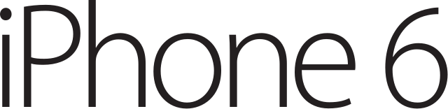 FichierIPhone 6 Logosvg  Wikipédia