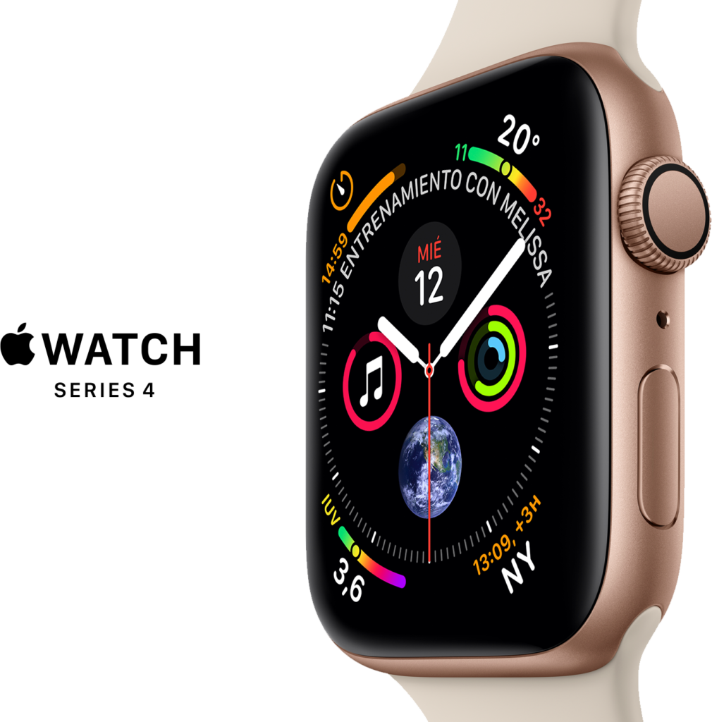 Reloj Apple Watch Series 4 GPS 44m Oro  Rosado Ktronix