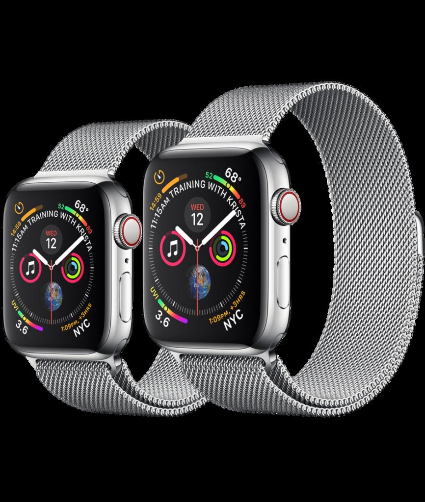 Apple Watch Stainless Steel Case with Milanese Loop  Jim