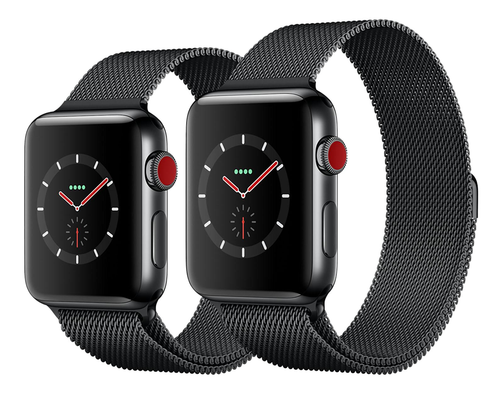 Best Apple Watch Series 3 deals on GPS plus cellular models