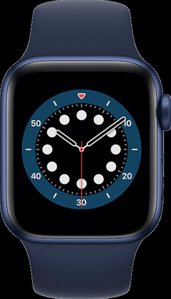 Apple Watch Series 6 44mm in Blue Aluminum  Deep Navy