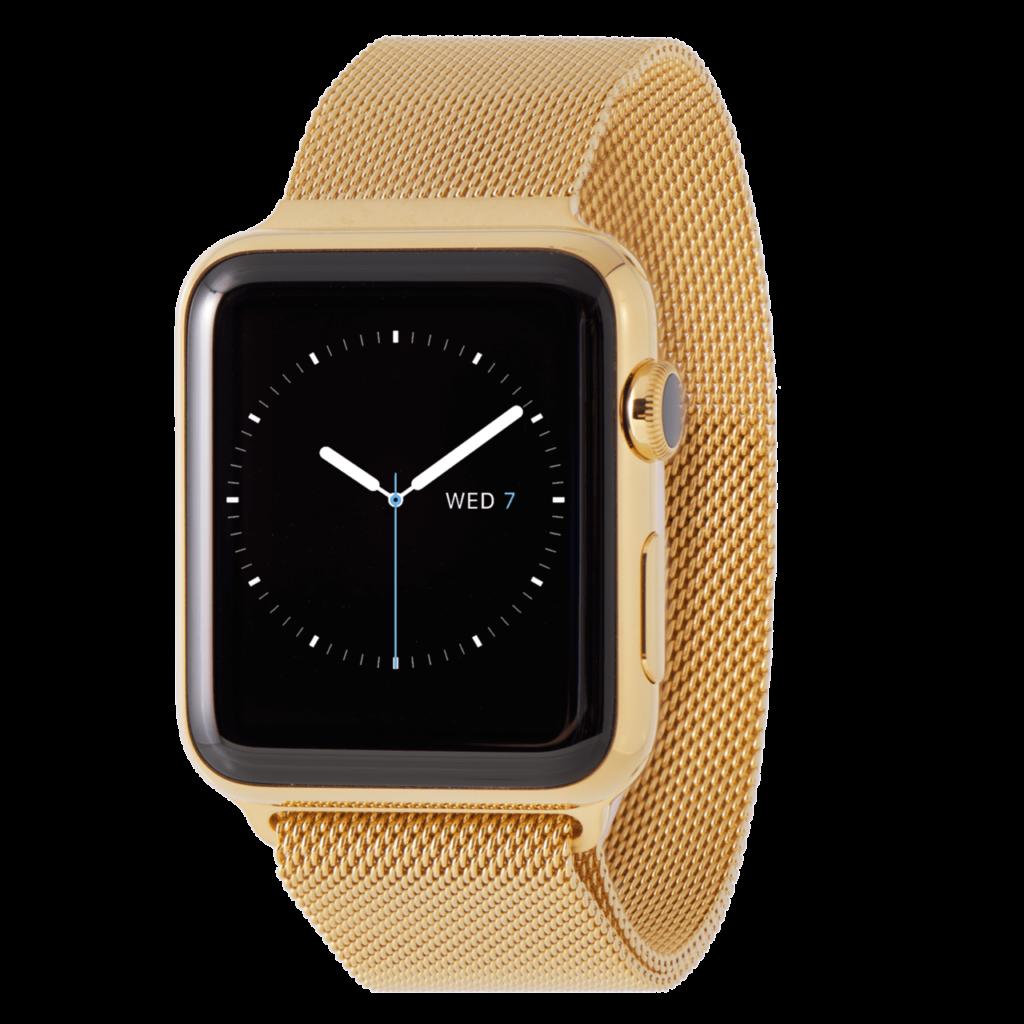 Apple Watch 24Karat Gold Plated Milanese Series 3