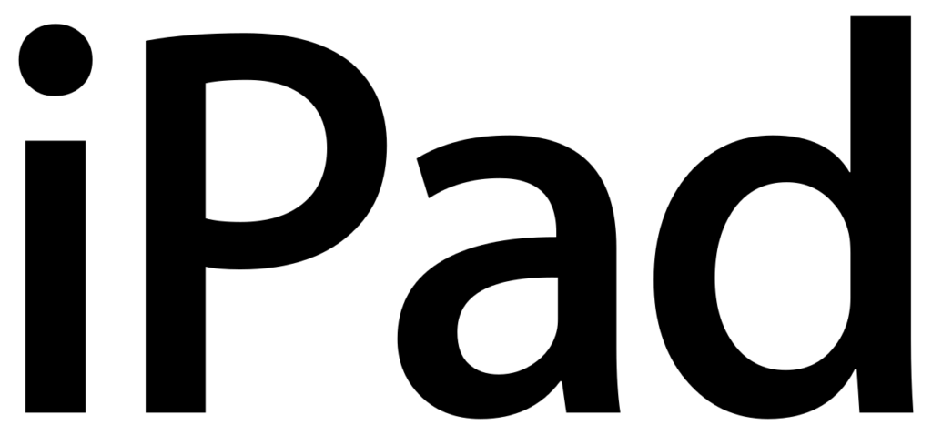 FileIPad wordmarksvg  Wikimedia Commons
