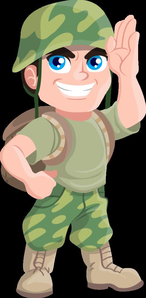 Military clipart female army Military female army