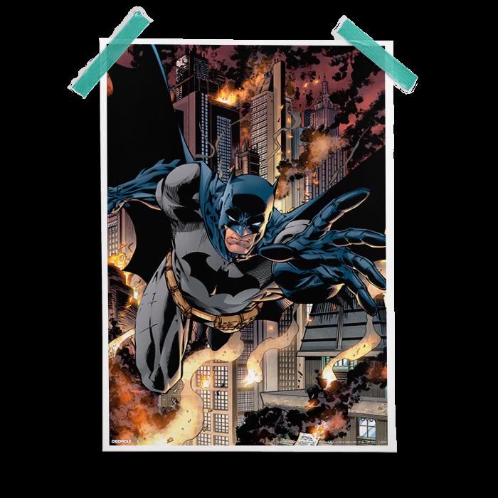 The Dark Knight  Official Batman Poster  Redwolf
