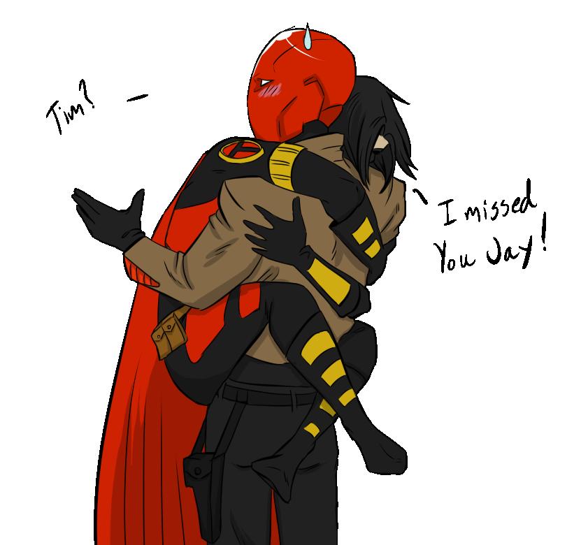 JayTim Glomp by CassperClearie  Batman family Superhero