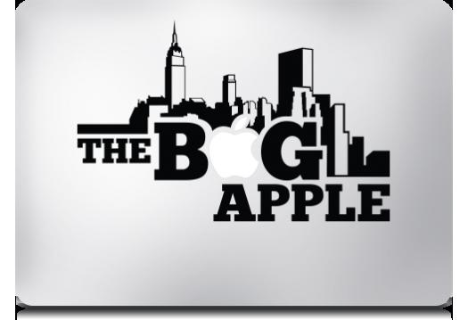 The Big Apple MacBook Stickers