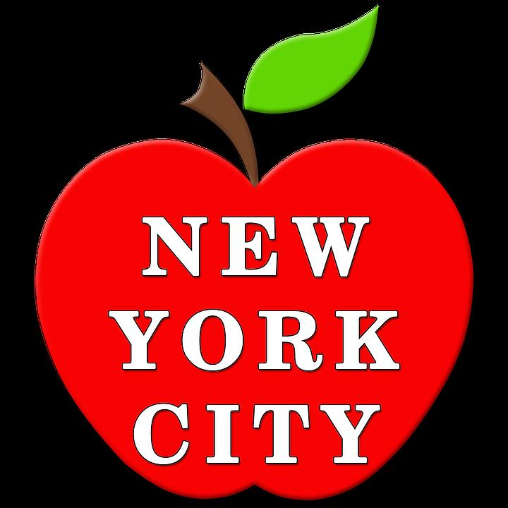 Apple New York Ny Manhattan The  Free image on Pixabay
